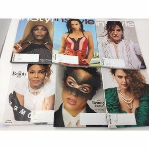 In Style Magazine Lot of 6 Issues